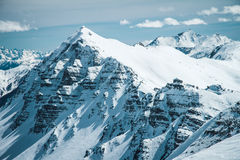 Französische Alpen Stockfotografie