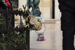 Französische Andenken beim Trocadero Stockfoto