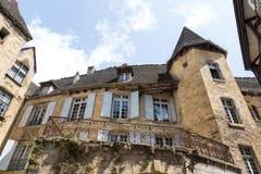 Französische Architektur Lizenzfreie Stockfotografie