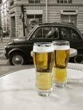 Französische Bistros Lizenzfreie Stockfotos