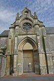 Französische Bretagne-Kirche Lizenzfreie Stockfotos