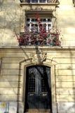 Französische Fassade Stockfotos