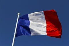 Französische Flagge Lizenzfreie Stockfotos