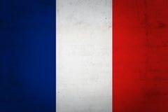Französische Flagge Lizenzfreie Stockbilder