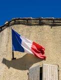 Französische Flagge Stockfotografie