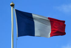 Französische Flagge Stockbilder