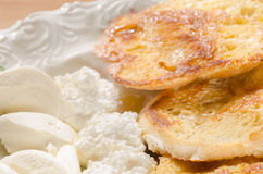 Französische Frühstückstoast Lizenzfreie Stockbilder