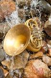 Französische Hupen-Instrument Stockfotografie