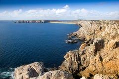 Französische Küste Stockbild