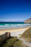 Französische Küste Stockfoto