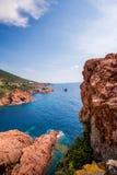 Französische Küste Lizenzfreies Stockbild