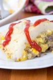 Französische Kanadier Shepherd's-Torten-Pastete chinois Stockbild