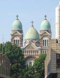 Französische katholische Kirche Lizenzfreies Stockbild
