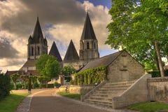 Französische Kirche Stockbild