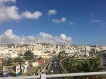 Französische Kolonialseite der Stadt von Algier, Bach Djarrah Algerien Moderne Stadt hat viele alten Franzosen Stockbild
