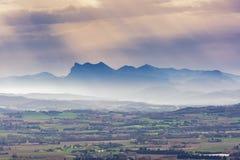 Französische Landschaft stockbild