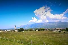 Französische Landschaft Stockfotografie