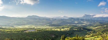 Französische Landschaft - Vercors stockfotos