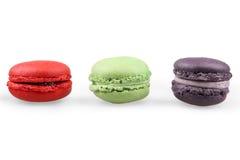 Französische macarons Lizenzfreies Stockfoto