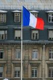Französische Markierungsfahne Lizenzfreie Stockbilder