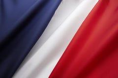 Französische Markierungsfahne Stockfoto