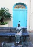 Französische Markt-Statue Lizenzfreies Stockbild