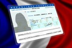 Französische Nationalität (Frau 2) stock abbildung