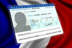 Französische Nationalität (Mann 2) lizenzfreie abbildung