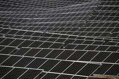 Französische photo-voltaische Solaranlage Lizenzfreies Stockbild