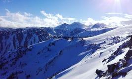 Französische Pyrenees stockbild