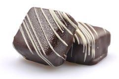 Französische Schokoladen-Süßigkeit Stockbild
