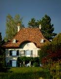 Französische Villa lizenzfreies stockbild