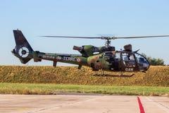 Französischer Armee-Gazellenhubschrauber Lizenzfreie Stockbilder