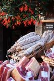 Französischer Fleischmarkt Stockbild