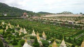Französischer Garten in Pattaya Lizenzfreies Stockbild