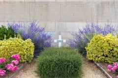Französischer General WW1 des Kirchhofs, der am Kampf von Verdun starb Stockbilder