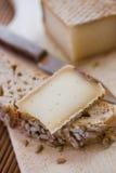 Französischer geschmackvoller Käse Lizenzfreie Stockfotografie