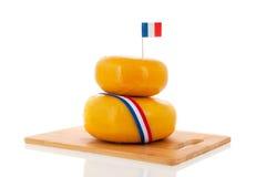 Französischer Käse Lizenzfreies Stockfoto