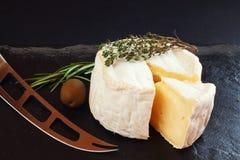 Französischer Käse Lizenzfreie Stockfotos