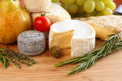 Französischer Käse Lizenzfreies Stockbild