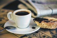 Französischer Kaffee Stockbild