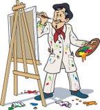 Französischer Maler Lizenzfreies Stockfoto