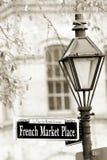 Französischer Markt Stockfoto