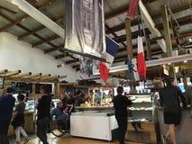 Französischer Markt Auckland La Cigala Lizenzfreies Stockfoto