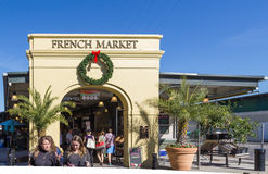 Französischer Markt New Orleans Stockbild