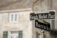 Französischer Marktplatz Lizenzfreie Stockfotos
