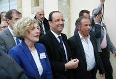 Französischer Politiker Francois Hollande lizenzfreies stockfoto