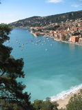 Französischer Riviera - berühmte Plätze Stockfotografie