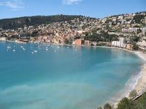 Französischer Riviera - berühmte Plätze lizenzfreie stockfotos