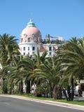 Französischer Riviera - berühmte Plätze lizenzfreies stockbild